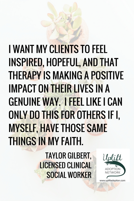 I want my clients to feel inspired.
